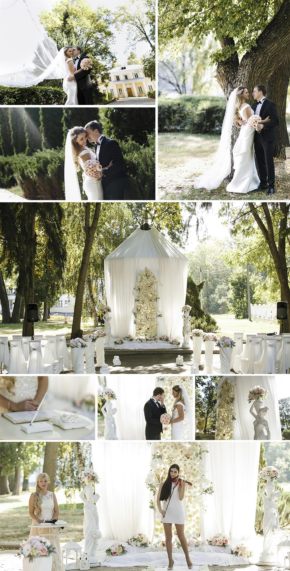 Яркая свадьба Александра и Кристины