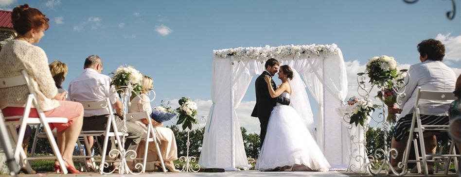 Свадьба Дмитрия и Алины
