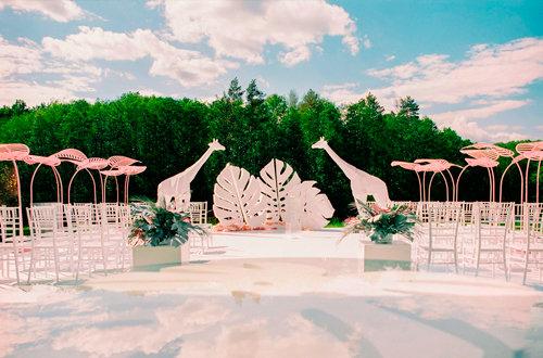 Стили оформления свадеб