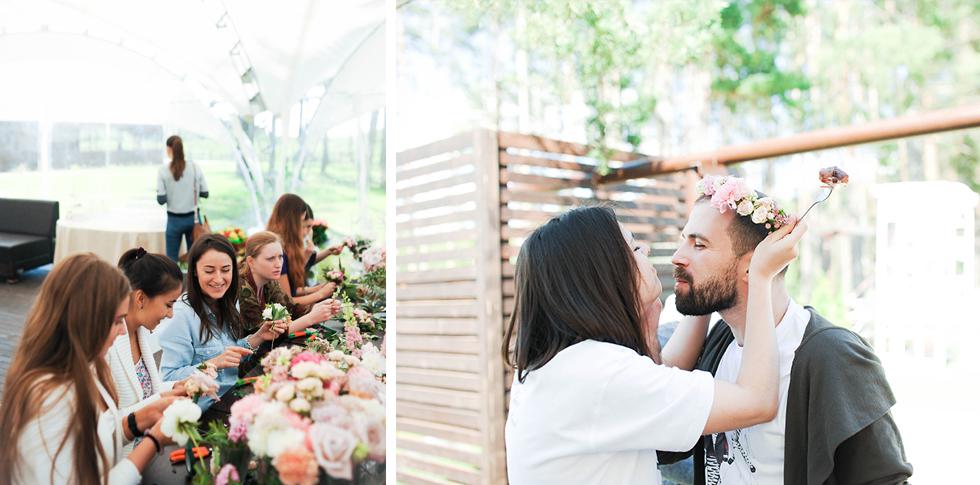 Второй день свадьбы Владимира и Марии