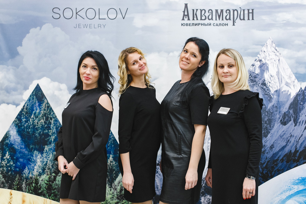 Открытие Аквамарин Sokolov в Галерее Чижова