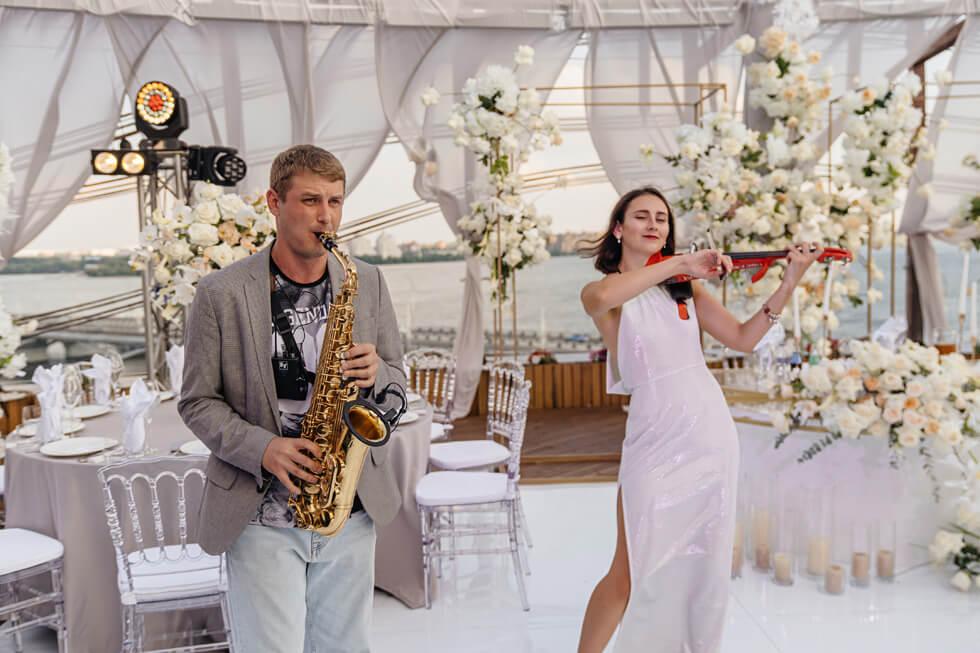 Идеальная свадьба Андрея и Юлии